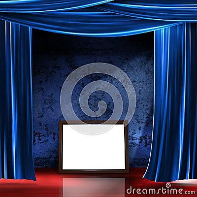 Stage frame