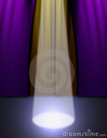 Stage Light Stock Image - Image: 849501