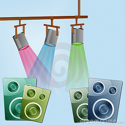Stage Light Speaker