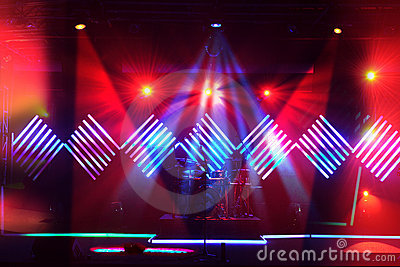 Stage Lights With LED Design