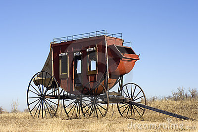 Stagecoach - ready to travel