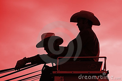Stagecoach riders