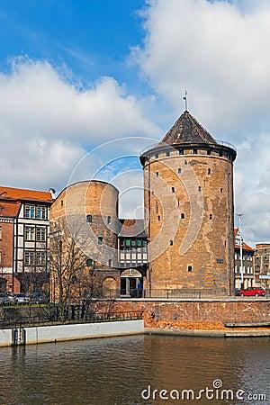 Stagiewna Gate in Gdansk, Poland.