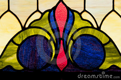 Stain glass window design