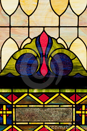 Stain Glass Window Design Royalty Free Stock Photos - Image: 21905488