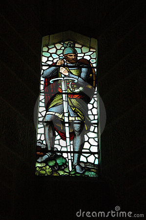 Stain-glass Window, Wallace Monument