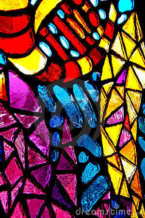 Free Stained Glass Royalty Free Stock Images - 10087569