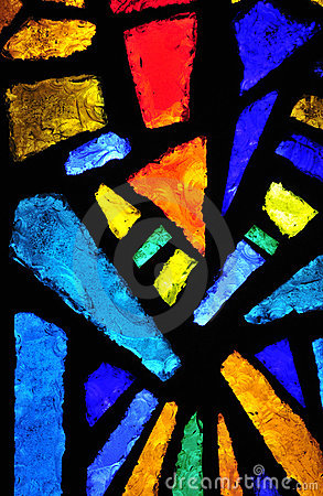 Free Stained Glass At The Church Of The Annunciation Royalty Free Stock Images - 10313109