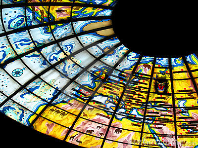 Stained glass bright
