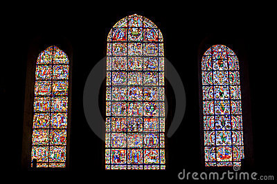 Stained glass from Chartres Cathedral
