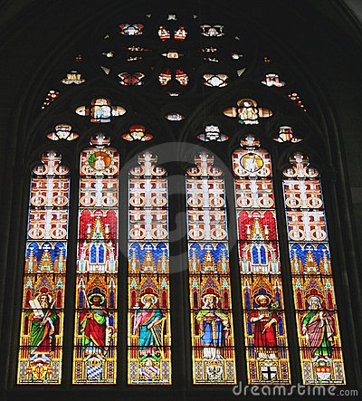 Stained Glass Dom Cathedral