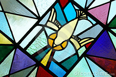 Stained Glass of the Holy Spirit