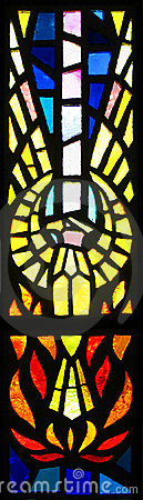 Free Stained Glass Phoenix Royalty Free Stock Photo - 6098635