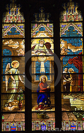 Free Stained Glass St. Patrick S Cathedral Stock Images - 6247704