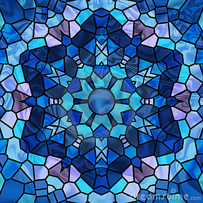 Free Stained Glass Star Royalty Free Stock Photo - 5786465