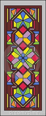 Stained-glass window 001