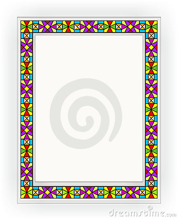 Stained-glass window 006