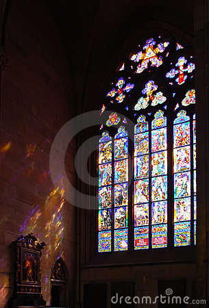 Free Stained Glass Window Stock Image - 11676961