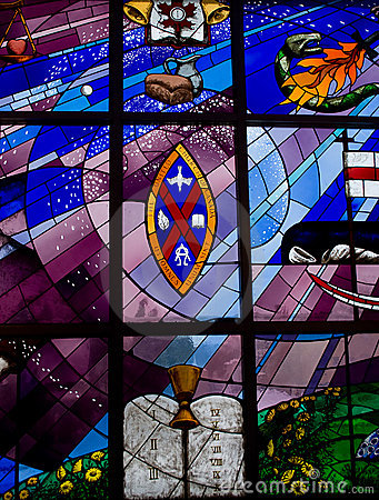 Free Stained Glass Window Royalty Free Stock Photography - 12653497