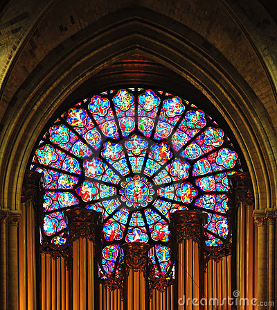 Free Stained Glass Window Royalty Free Stock Photography - 15780687