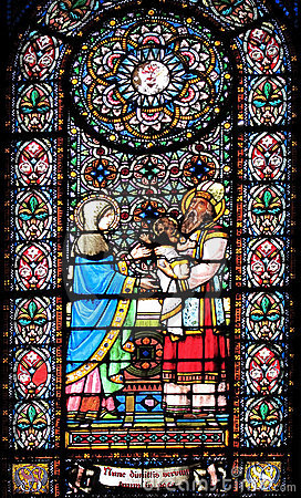 Free Stained Glass Window Royalty Free Stock Photography - 17838167