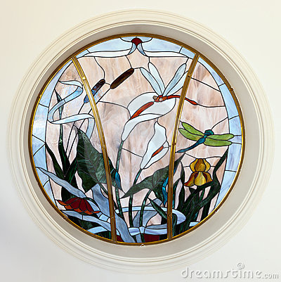 Free Stained Glass Window. Royalty Free Stock Image - 19618166