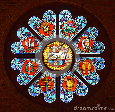 Free Stained Glass Window Royalty Free Stock Images - 31281359