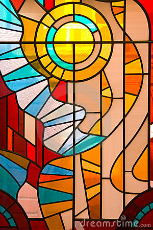 Free Stained Glass Window Royalty Free Stock Photo - 9262275
