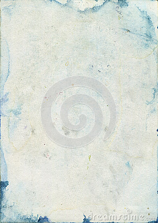 Free Stained Old Watercolour Paper Texture Stock Photos - 43191283