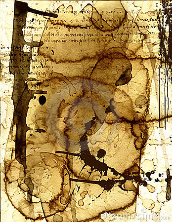 Stained Paper XIII