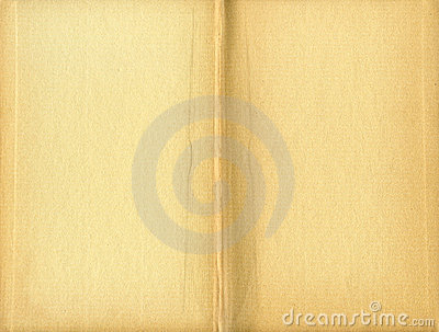 Stained yellowed book inside