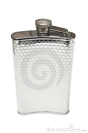 Stainless hip flask