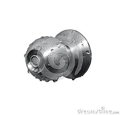 Stainless knob
