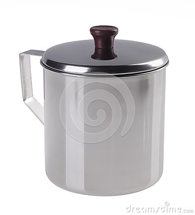 Free Stainless Steel Cup With Top Cover Stock Photos - 25360053