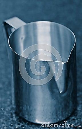 Stainless steel jug