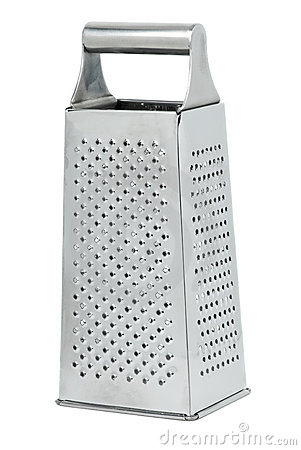 Stainless steel kitchen grater