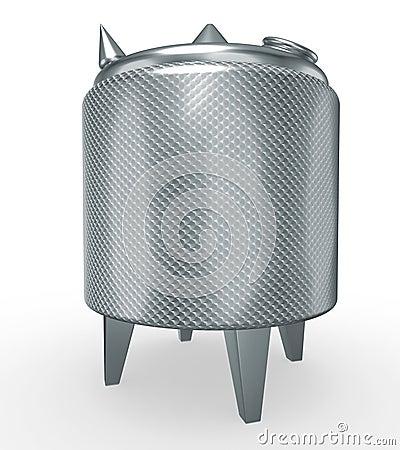 Stainless steel pressure tank