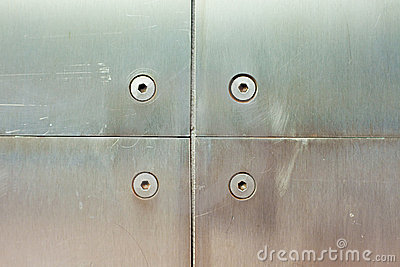 Stainless steel screws and panels