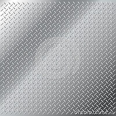 Stainless steel small diamond tread pattern