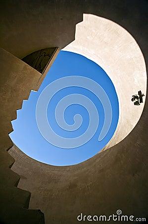 Stair, Barka Fort, Oman