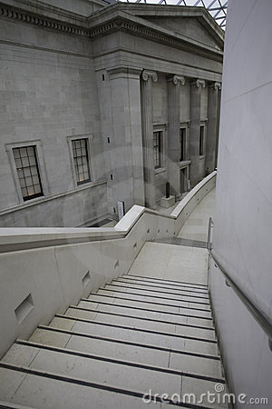 Stair in the british museum