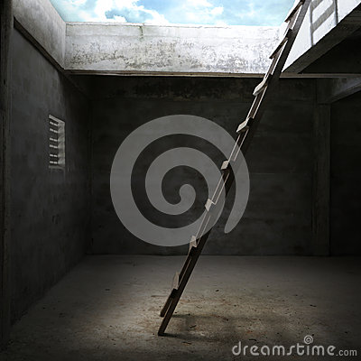 Free Stair For Out Of The Room Stock Images - 34193104