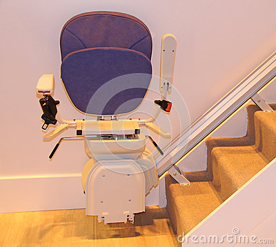 Free Stair Lift. Stock Photo - 60119860