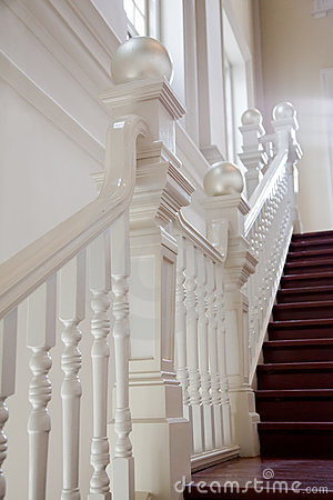 Stair with railing