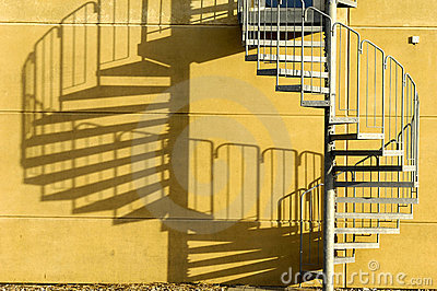 Stair and shade