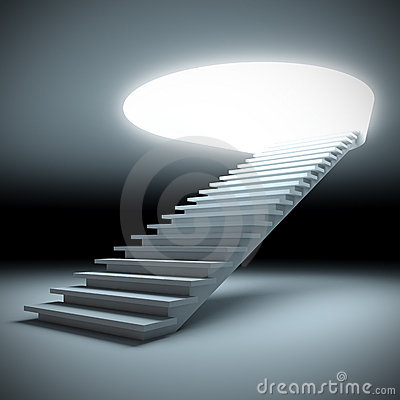 Stair to the future.