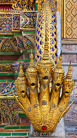 Staircase Detail at Grand Palace