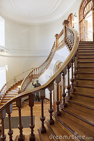 Free Staircase Of A Library Stock Photography - 8930072