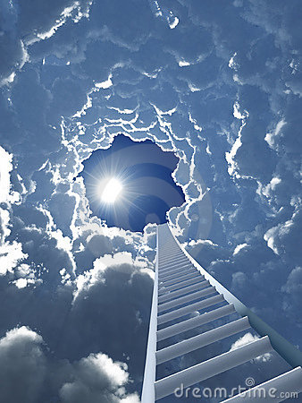Free Staircase To Heaven Royalty Free Stock Photo - 16639915