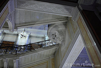 Staircase in winter palace